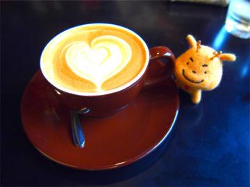 キヌガサ in 上野のカフェ(^^)