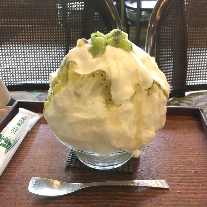 玉氷の「はちみつキウイヨーグルト」