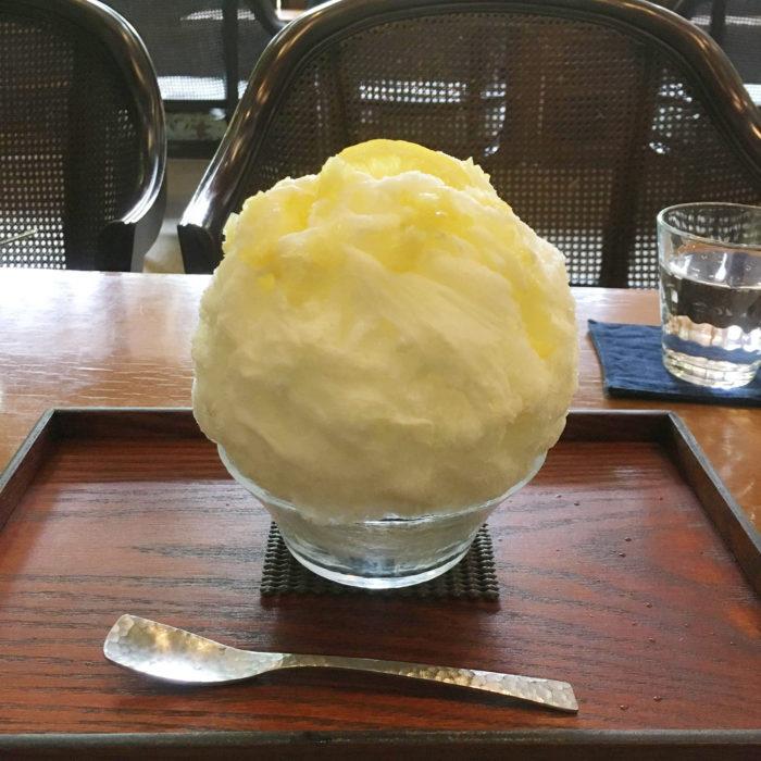 玉氷の「瀬戸内レモンミルク」
